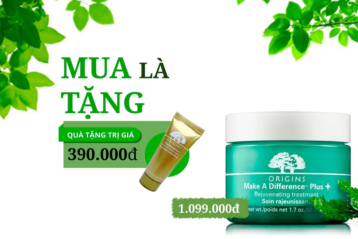 Kem duong am danh rieng cho da dau Make A Difference - Skin rejuvenating treatment