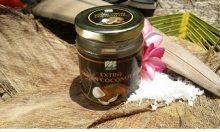 Bí làm kem dưỡng cho da mặt với dầu dừa