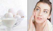 Bí quyết dưỡng da trắng mịn từ mặt nạ trứng gà